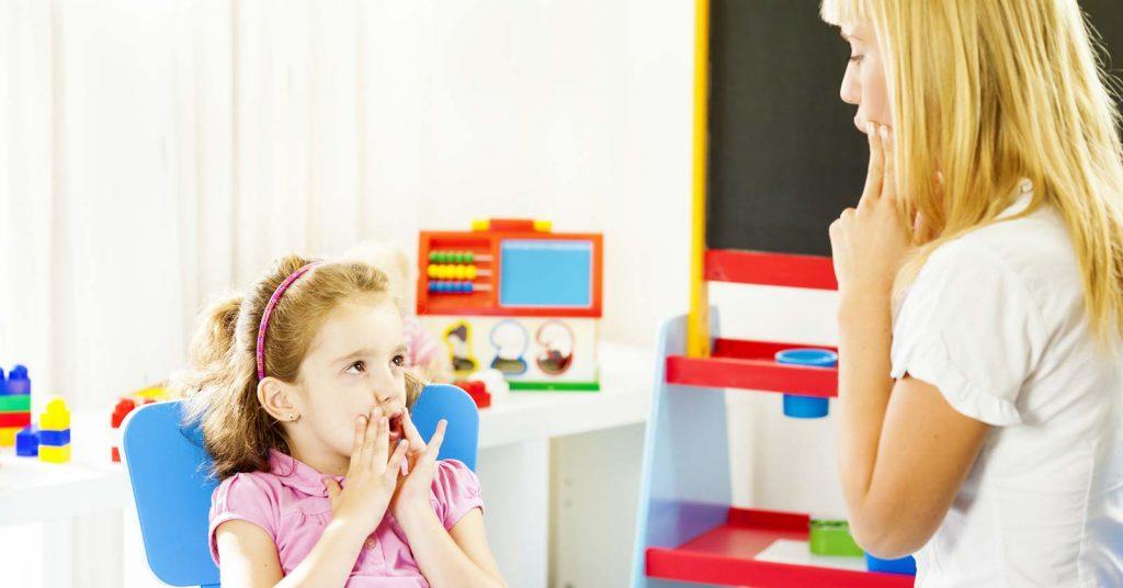 گفتار درمانی فلج مغزی
