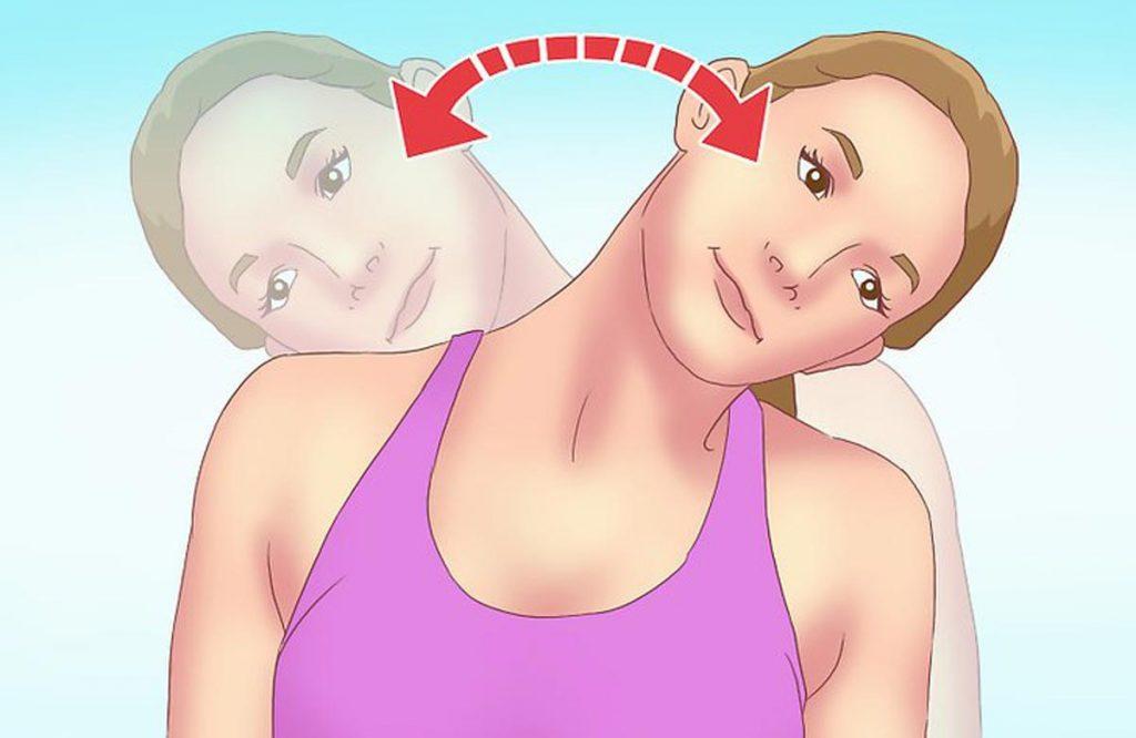 کج کردن گردن