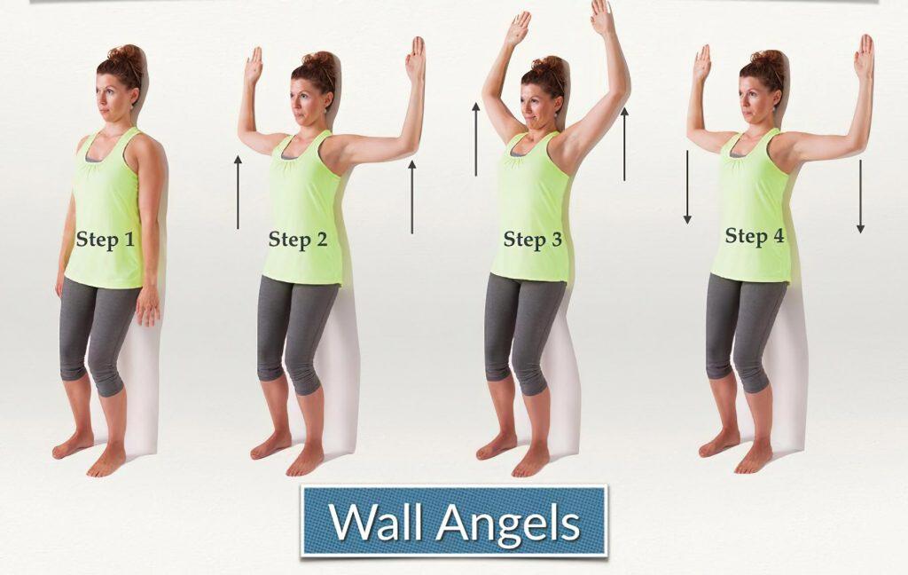 تمرین Wall Angels