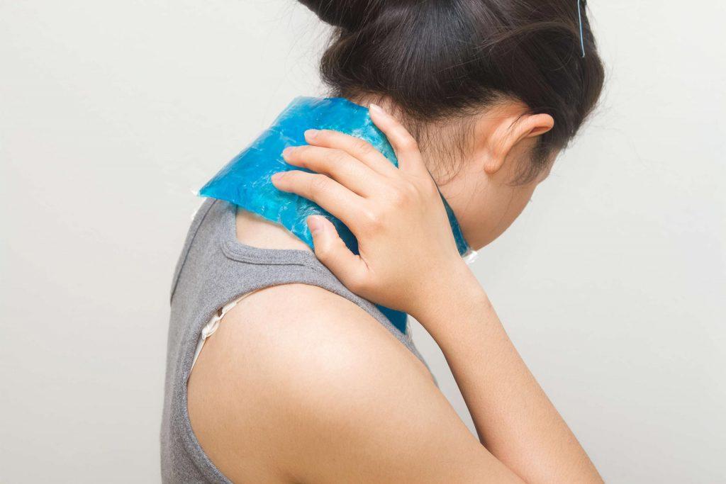 درمان گرفتگی گردن