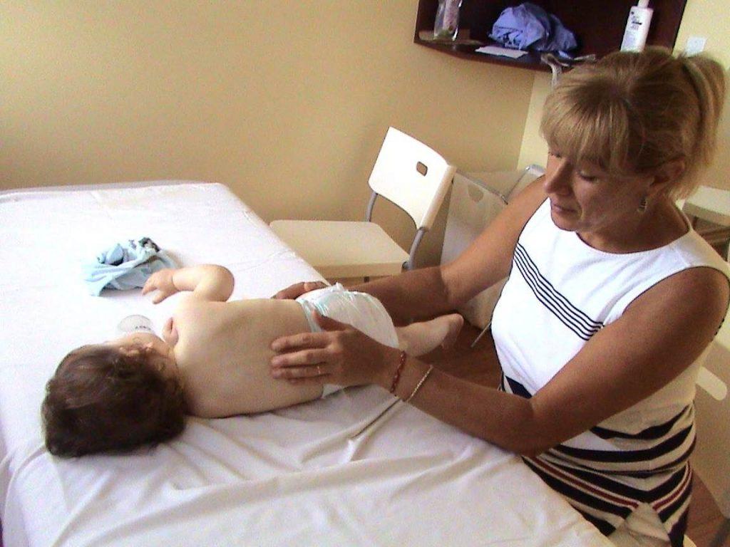 ماساژ درمانی برای فلج مغی