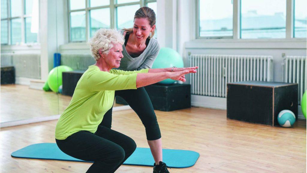 توانبخشی و بهبودی با تقویت عضلات