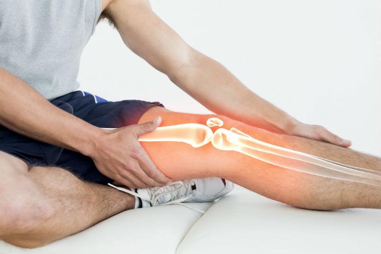 لیزر درمانی زانو و پا