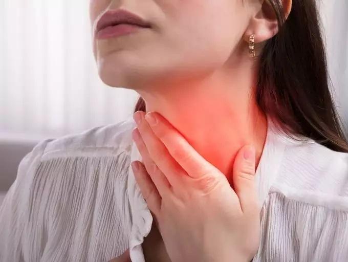 علت درد گلو
