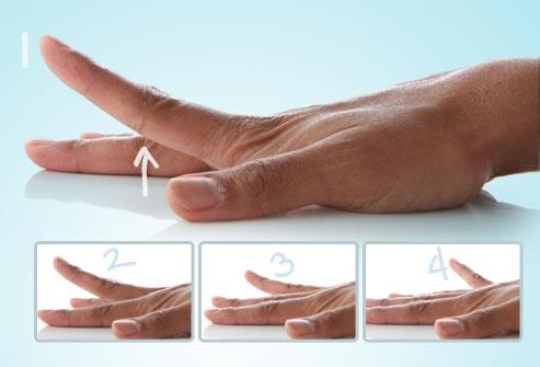 بلند کردن انگشت