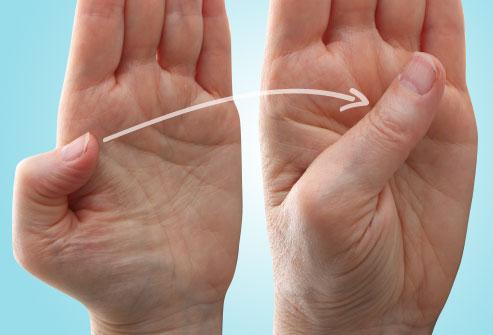 حرکت کششی انگشت شست