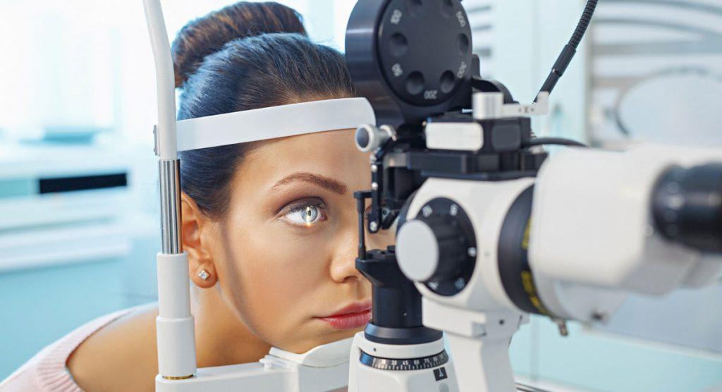 درمان فلج عصب ششم چشم