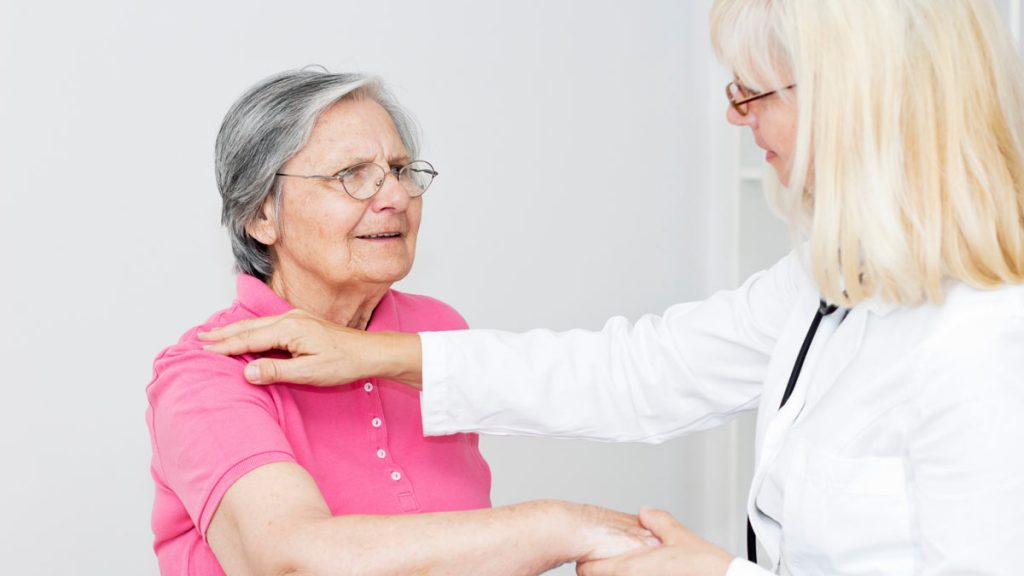 فیزیوتراپی بورسیت و التهاب شانه