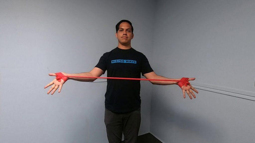 تمرینات سندرم خروجی قفسه سینه