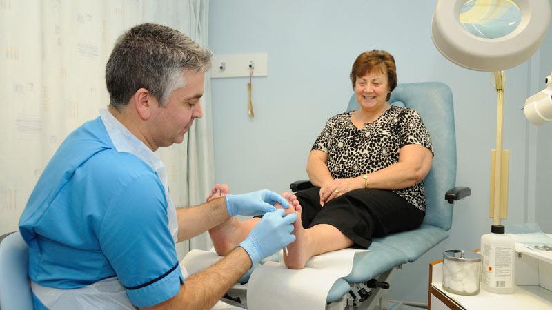 درمان آرتروز پا و مچ پا